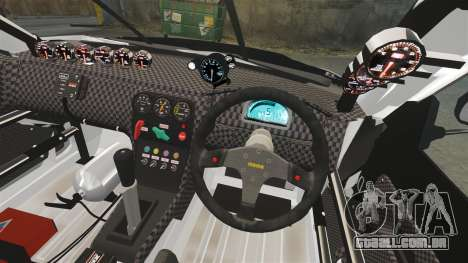 Nissan Skyline R34 para GTA 4 vista lateral