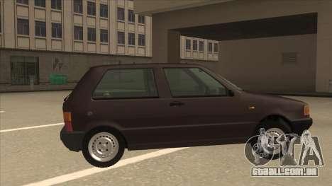 Yugo Uno 45 R 1994 para GTA San Andreas traseira esquerda vista