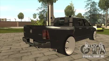 Dodge Ram Laramie Low para GTA San Andreas vista direita