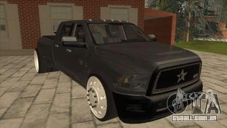 Dodge Ram Laramie Low para GTA San Andreas esquerda vista