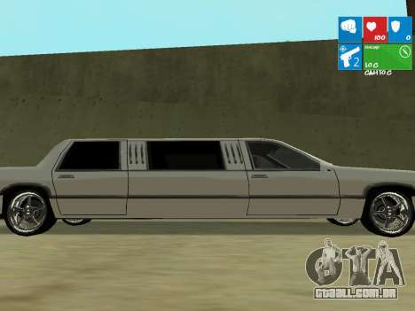 New Stretch para GTA San Andreas esquerda vista