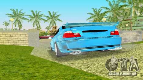 BMW M3 E46 Hamann para GTA Vice City vista direita