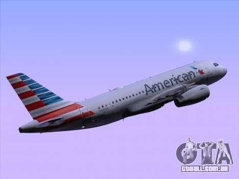 Airbus A319-112 American Airlines para GTA San Andreas