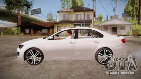 VW Jetta GLI 2013 para GTA San Andreas esquerda vista