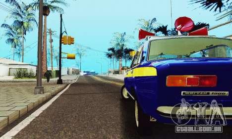 VAZ 21011 Propaganda para GTA San Andreas vista interior