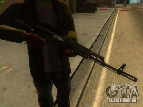AK-103 para GTA San Andreas segunda tela