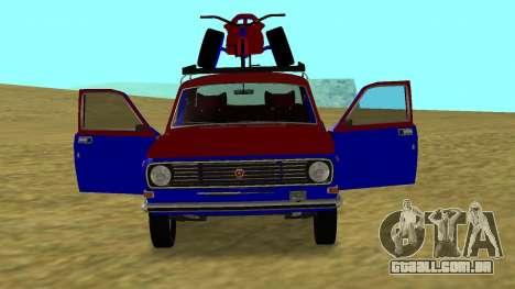 GAZ-24 Volga divertido para GTA San Andreas vista direita