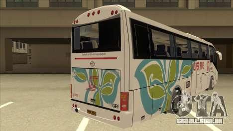 Higer KLQ6129QE - Super Five Transport S 025 para GTA San Andreas vista direita