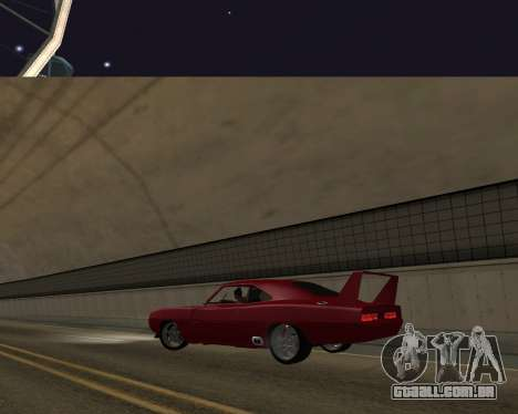Dodge Charger Daytona para GTA San Andreas vista interior