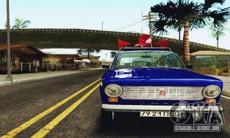 VAZ 21011 Propaganda para GTA San Andreas esquerda vista