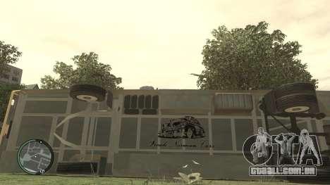 Escola LIAZ 5256.45-01 para GTA 4 vista interior