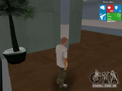 Novo vendedor de armas para GTA San Andreas segunda tela
