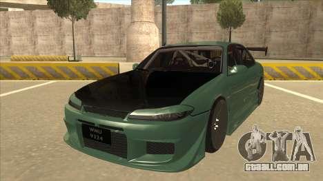 Proton Wira with s15 front end para GTA San Andreas