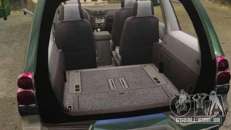 Chevrolet TrailBlazer SS 2008 para GTA 4 vista de volta