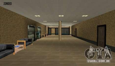 Retekstur o Interior da Câmara Municipal para GTA San Andreas terceira tela