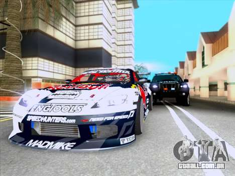 Mazda RX-8 NFS Team Mad Mike para GTA San Andreas vista traseira
