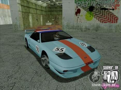 Super GT HD para GTA San Andreas interior