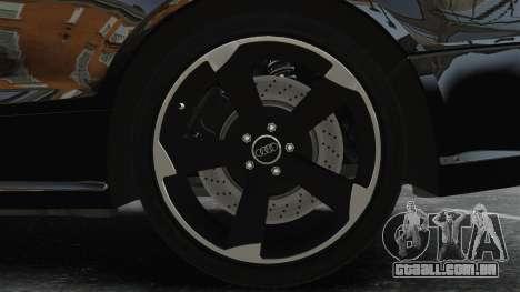 Audi RS5 2011 v2.0 para GTA 4 vista de volta