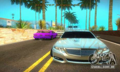 Mercedes-Benz E350 Wagon para GTA San Andreas traseira esquerda vista