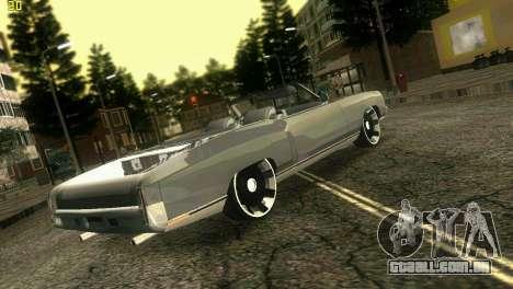 Chevy Monte Carlo para GTA Vice City deixou vista