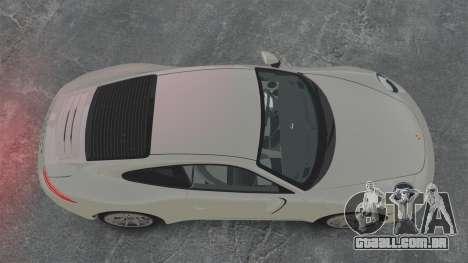 Porsche 911 Carrera S 2012 v2.0 para GTA 4 vista direita