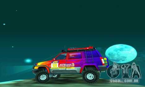 UAZ Patriot julgamento para GTA San Andreas interior