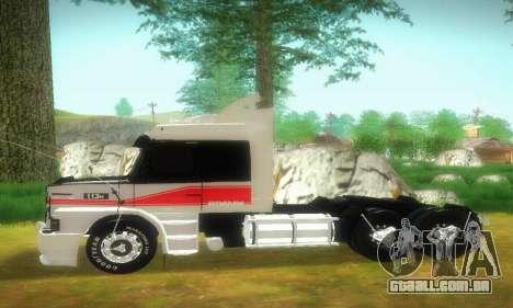 TopLine Scania 113 h 360 para GTA San Andreas esquerda vista