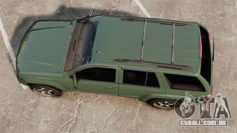 Chevrolet TrailBlazer SS 2008 para GTA 4 vista direita
