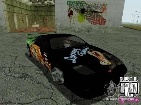 Super GT HD para GTA San Andreas vista superior
