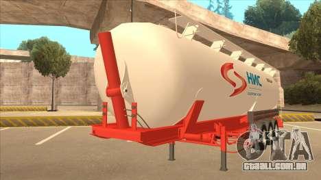 Semi-reboque para Scania R620 Nis Nis Kamion para GTA San Andreas