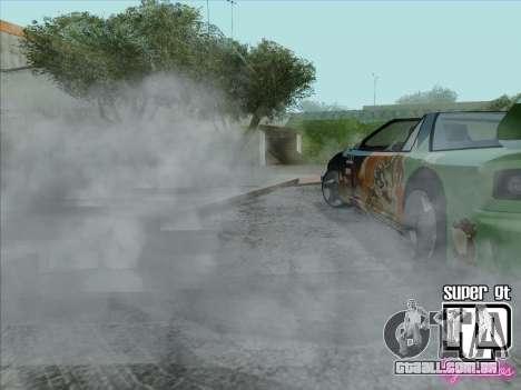 Super GT HD para GTA San Andreas vista inferior
