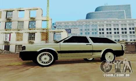 VW Parati GLS 1988 para GTA San Andreas esquerda vista