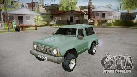 Nissan Patrol Y60 para o motor de GTA San Andreas