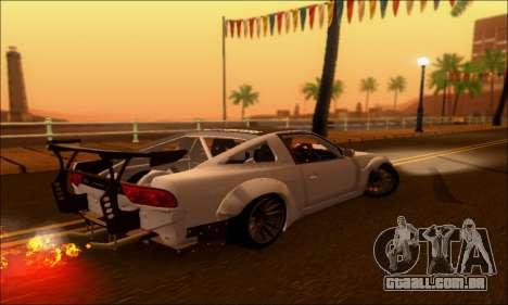 Nissan 380SX BenSopra para GTA San Andreas esquerda vista