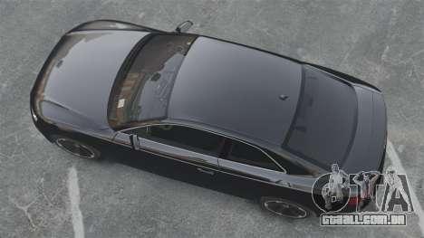 Audi RS5 2011 v2.0 para GTA 4 vista direita