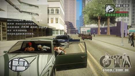 GTA HD mod 2.0 para GTA San Andreas terceira tela