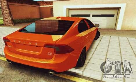 Volvo S60 para GTA San Andreas vista interior