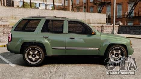 Chevrolet TrailBlazer SS 2008 para GTA 4 esquerda vista