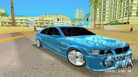 BMW M3 E46 Hamann para GTA Vice City deixou vista