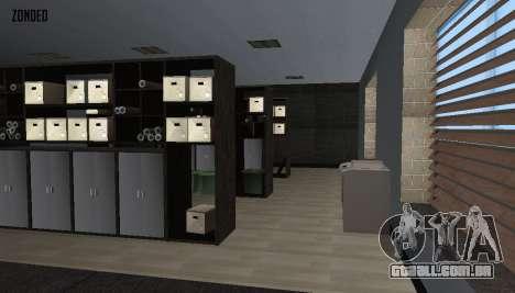 Retekstur o Interior da Câmara Municipal para GTA San Andreas sétima tela
