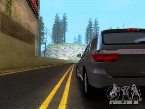 Dodge Durango Citadel 2013 para GTA San Andreas vista direita