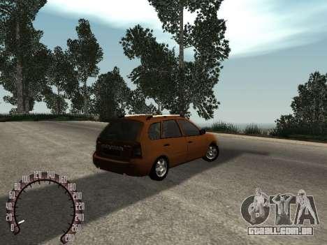 Lada 1117 Kalina para GTA San Andreas vista direita