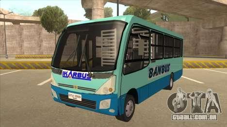 BANBUS Bus Srb. para GTA San Andreas