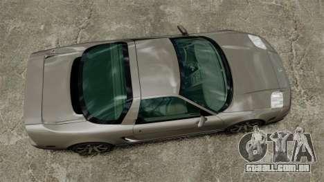 Acura NSX para GTA 4 vista direita