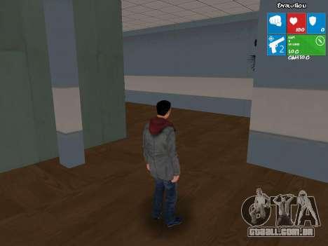 O personagem principal de NFS: Carbon para GTA San Andreas segunda tela