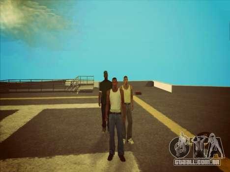Alternar entre personagens como em GTA V 2.0 para GTA San Andreas