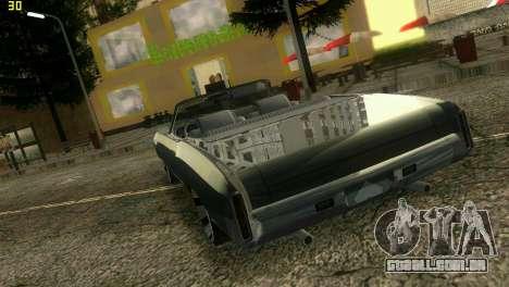 Chevy Monte Carlo para GTA Vice City vista direita