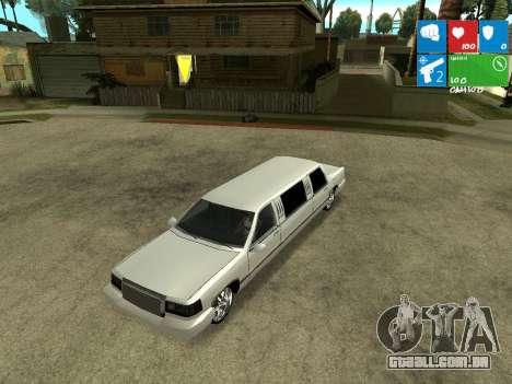 New Stretch para GTA San Andreas vista traseira