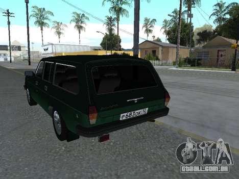 310221 GÁS para GTA San Andreas vista direita