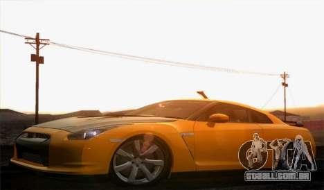 Nissan GT-R Carbon para GTA San Andreas